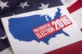 Presidential Election Vote, American Flag - Its time to take back American