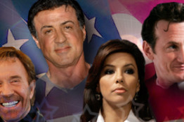 Celebrity Political Supporters