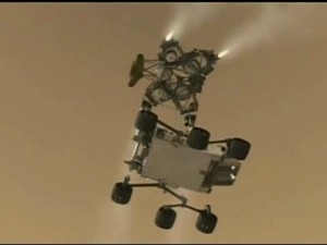 Mars Rover Launches