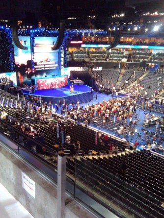 Behind the Scenes at the DNC