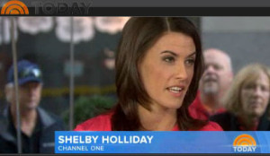 Shelby Holliday on the Today Show