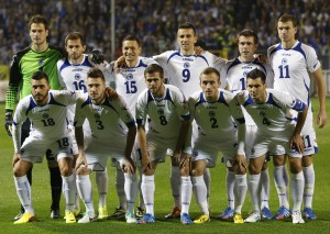 Bosnia goes from the battlefield to the World Cup
