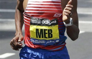Keflezighi's Boston win a boost for shoe sponsor