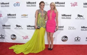 AP PHOTOS:  Music industry celebrates big night