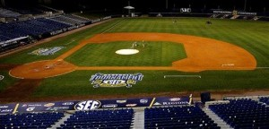 AP PHOTOS: SEC tourney grounds crew work displayed