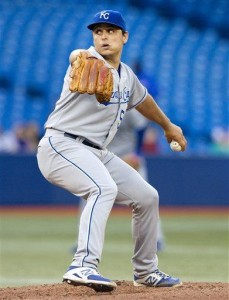 Blue Jays use big 1st inning to rout Royals 12-2