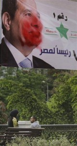 Poll: Only slight majority in Egypt backs el-Sissi