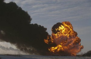 Sharp rise in West Coast oil trains, fears abound