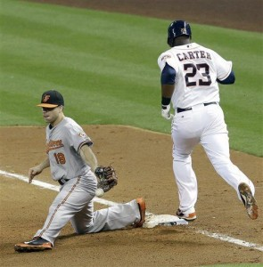 Springer homers again, Astros beat Orioles