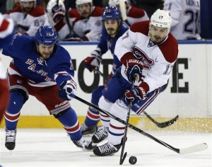 St. Louis' OT goal lifts Rangers over Habs