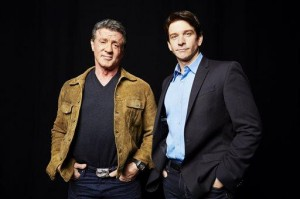 Stallone, Karl share feelings on playing Rocky