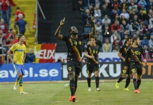 Belgium beats Sweden 2-0 in World Cup warm-up