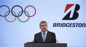 Bridgestone becomes top tier IOC sponsor