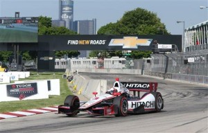 Castroneves wins 2nd Detroit Grand Prix of weekend