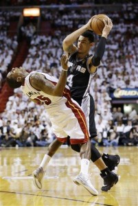 Heat drilled in Game 3 of NBA Finals