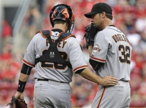 Morse, Perez HRs lead Giants over Reds 3-2