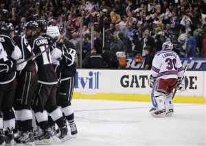 NY Rangers wowed by LA Kings in Cup finals opener