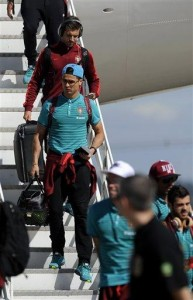 Portugal's fit-again Ronaldo arrives in Brazil