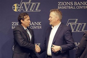 Snyder introduced as new Jazz coach