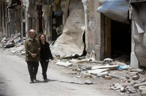 Syrian woman survives 700 days of blockade