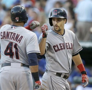 Tribe's Chisenhall has 9 RBIs, 3 HRs against Texas