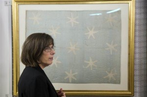 Washington's flag awaits museum's 2016 opening