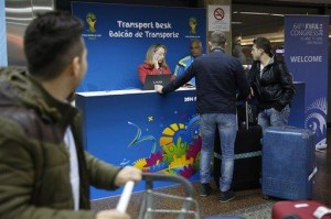 World Cup fans face rough landing in Brazil