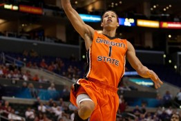 LOS ANGELES - MARCH 10: Oregon State Beavers G Jared Cunningham