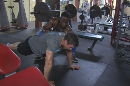 Nixlot and Keith working out001