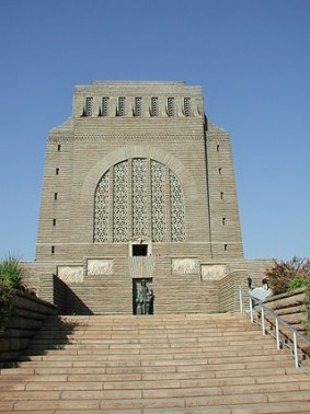 Voortrekker Monument. This monument outside Pretoria, South Africa remembers the descendants of Dutch settlers, mainly farmers, who fled inland away from British colonial rule, and commemorates a victorious battle against the Zulus. Photo Credit: John Walker