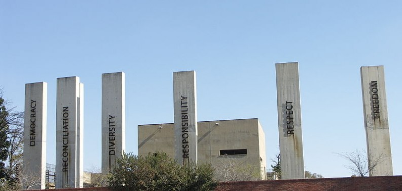 The Apartheid Museum in Johannesburg South Africa was opened in 2001, and provides visitors with an important look at the experience of Apartheid and what can be learned from it today.  Photo Credit: http://commons.wikimedia.org/wiki/User:NJR_ZA