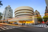 New York City, USA - May 12, 2012: The Guggenheim Museum on 5th