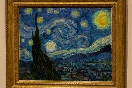 New York City, NY USA - 05/01/2015 - New York City MOMA - Starry Night, Vincent Van Gogh