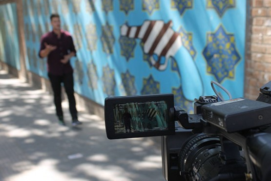 Behind the Scenes Photos: Iran | Channel One News