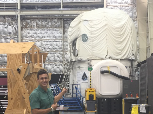 This is the habitat at Johnson Space Center, where crews stay in isolation for weeks to simulate life on a deep-space mission.