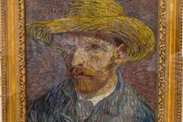 New York City, NY USA - 05/01/2015 -  New York City The Met - Vincent Van Gogh Self Portrait Painting