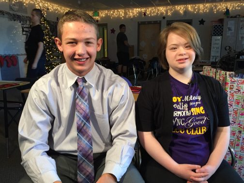 Hannah and Tyler are besties and have an awesome story.